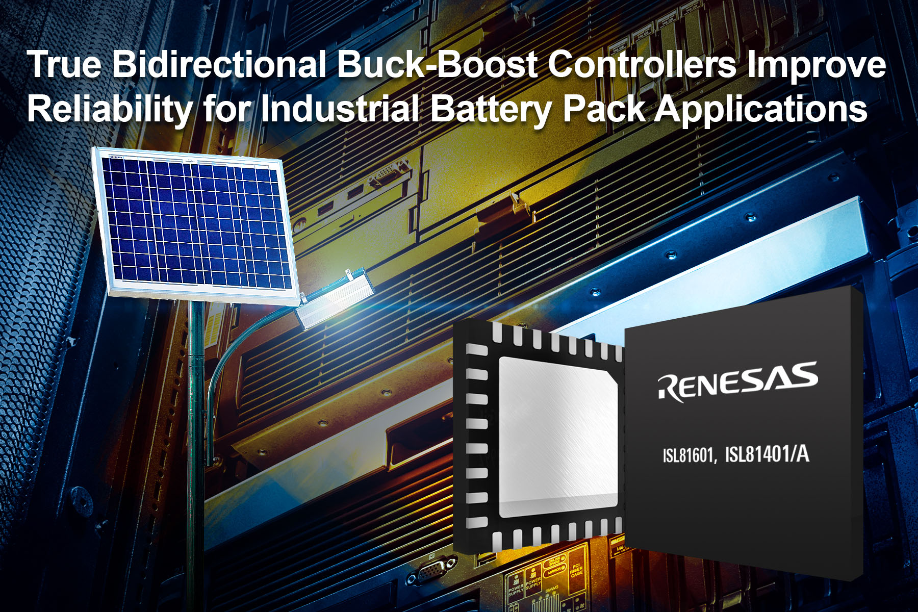 Buck-Boost Controllers for Industrial Battery-Powered Applications